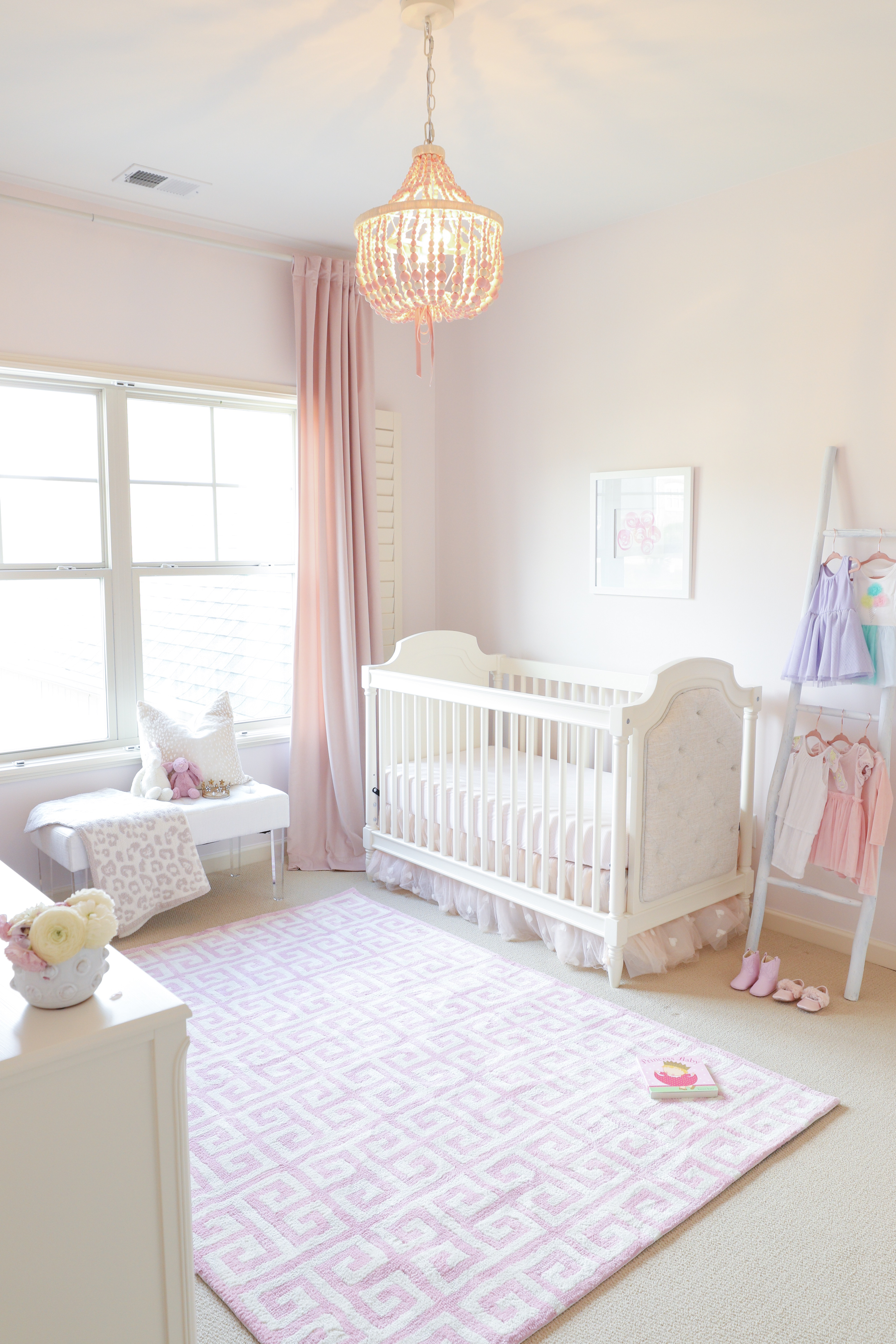 Pink Bliss Nursery For Baby